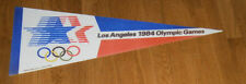 1984 Los Angeles Summer Olympics pennant - Michael Jordan Carl Lewis USA