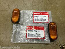 Genuine OEM Honda S2000 Amber Side Marker Lights Lens Lenses