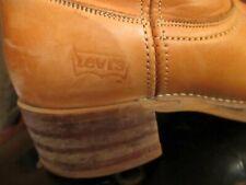 Levi's True Vtg 70s Campus western/cowboy leather boots Mens 8.5 M Womens 9.5