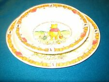 Pooh and Piglet Dish and Bowl