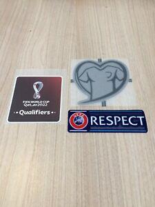 Exclu lot Patch Badge Set Eliminatoires Qualificatif QATAR 2022 Coupe du Monde