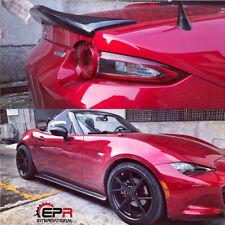 For Mazda MX5 Miata ND RF LMS Style Carbon Fiber Rear Trunk Duckbill Spoiler Lip