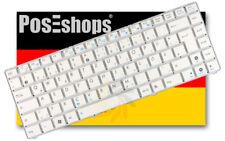 Orig. QWERTZ Tastatur Asus Eee PC 1201N 1201NL 1201PN 1201T Serie DE weiss Neu
