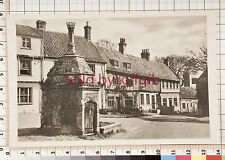 Mediaeval conduit house and common place Walsingham postcard local publisher