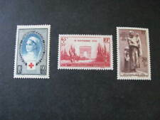France Stamps 3 Stamps from 1938 - 1939 Lot Q