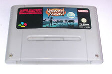 Spiel: HARVEST MOON für SNES Super Nintendo * guter Zustand * speichert