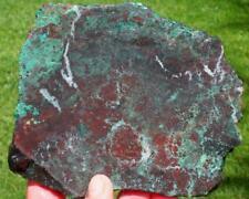 CHRYSOCOLLA, SLAB 410 grams jasper/agate/rough/minerals/metal/cab/gem/specimen