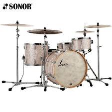 "Sonor Vintage Series VT-16 Three22 22"" 3PC Drum Shell Pack Vintage Pearl"