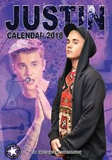 Justin Bieber 2018 A3 Wall Calendar - Great images, sent fast & free