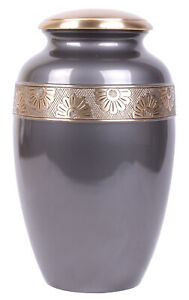 Large Urn For Ashes Cremation Urn Adult Memorial Grey Ashes Urn REDUCED MARKS