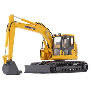First Gear 1/50 KOMATSU PC138USLC-11 Compact Excavator Diecast Model Toy