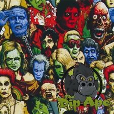 COLORED DEAD POOL ZOMBIES HYDROGRAPHIC WATER TRANSFER HYDRO FILM DIP APE