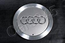 "Genuine 15"" Alloy Wheel Center Hub Avus Silver Cap 1pcs Audi A4 A6 A8 1998-2010"