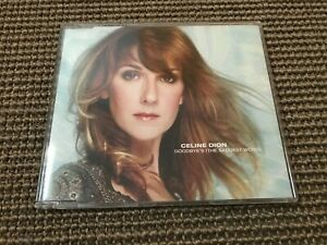 RARE CD MAXI SINGLE 5T CELINE DION GOODBYE'S HE SADDEST WORD (2002)