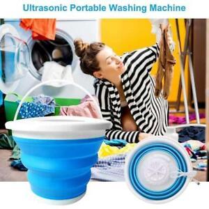 Folding Laundry Tub Basin Washing Machine Automatic Clothes Mini Washing Bucket