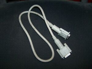Apple Monitor 6' Cable Db=B15 Male to DB15 Male P/N 590-0161-A