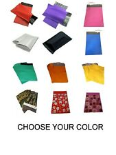 6x9 Poly Mailers Shipping White Black Blue Pink Purple Red Camo Green Orange