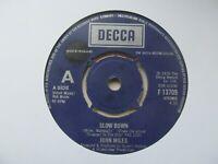"JOHN MILES Slow Down/Manhattan Skyline UK 7"" Single EX Cond"