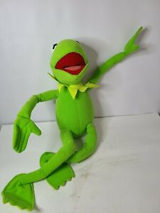 Nanco Kermit The Frog Soft Bendable Large Plush Toy Vintage Muppets Doll 25 In