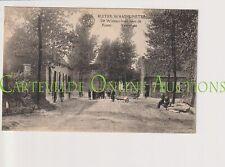 Oude Postkaart CPA Waasmunster Ruiter - De Wijman Hoek Ruiter Veerstraat