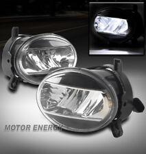09-12 AUDI A4 B8 BUMPER DRIVING LED FOG LIGHTS LAMP BLACK/CHROME LEFT+RIGHT PAIR