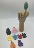 Rare Barbapapa Finger Puppet Toys Vintage Brand New Collectible 100% Complete