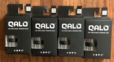 Qalo Slicone Wedding Ring - Step Edge Q2x - Mens Black - Size 9