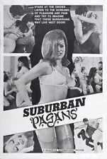 Suburban Pagans Poster 01 A3 Box Canvas Print