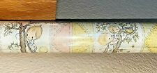 Vintage Hallmark Roll of Betsey Clark Patchwork Pastel Gift Wrap Wrapping Paper