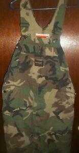 WINCHESTER Hunting Bib Overalls Winchester Camouflage Denim Bib Overalls 40