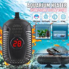 25/150W Aquarium Heater Fish Tank LED Digital Submersible Adjustable Thermostat