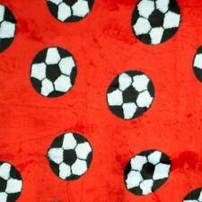 Fußball Stoff Plüsch rot weiß  WM EM Bundesliga Fan Flagge Sport Fahne Tor Ball