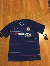 Genuine Bnwt Mens Vaporknit Chelsea Football Shirt Nike Large L