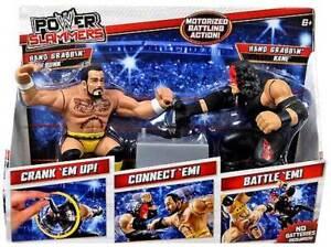 WWE Power Slammers - CM Punk and Kane Figures