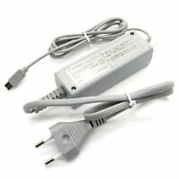 EU Plug AC Power Supply Charger Adapter Cable For Nintendo Wii U Console Gamepad