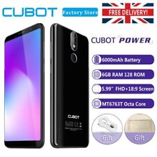Cubot Power Smartphone Octa Core Android 8.1 6GB RAM 128GB ROM 4G Mobile Phone