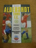 14/08/1993 Aldershot Town v Bracknell Town [Friendly] . Thanks for viewing our i