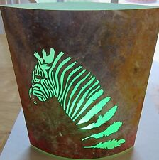LED Lantern/Nightlight-Zebra -Multi Color Lights-battery operated-change color