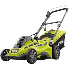 Push Lawn Mower 16 Inch Corded Electric 13 Amp Walk Behind Portable Lightweight