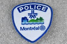 Original Montreal SPVM Police Patch