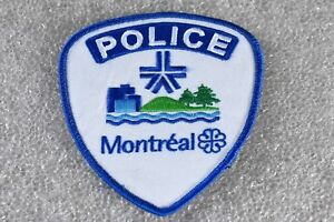 Genuine Montreal SPVM Police Patch