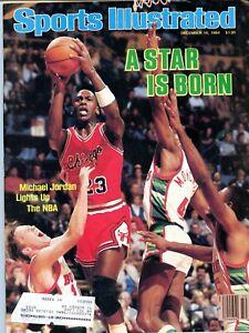 "Sports Illustrated Dec. 10 1984, Michael Jordan ""A Star Is Born"" 1st Pro Cover"