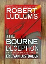 ROBERT LUDLUM 'The Bourne Deception' Hardcover First Edition/ First Print 2009