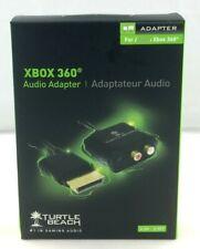 Turtle Beach Microsoft Xbox 360 Audio Adapter Cable EUC