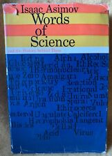 Words of Science by Isaac Asimov (Hardcover) with original dust jacket, 1959