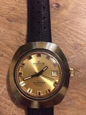 Fortis 1970 Vintage Maxi Flipper Diver Automatic Water Resistant 5 ATM Swiss