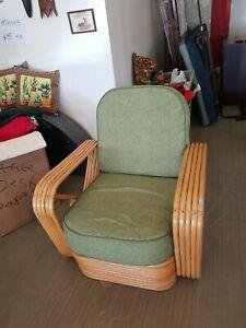 Paul Frankl Rattan Chair