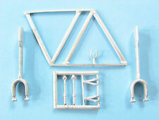 Bristol Bombay Landing Gear for 1/72nd Scale Valom Model SAC 72112