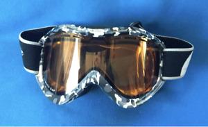 BLOC Eyewear XT6000 Ski Snowboarding Goggles Black Ladies Small Mans