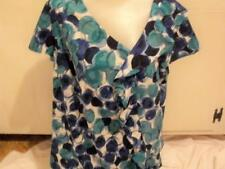 WOMENS SLIP OVER TOP BLOUSE  BY LANE BRYANT MULTI RUFFLE  NWOTS Clothing